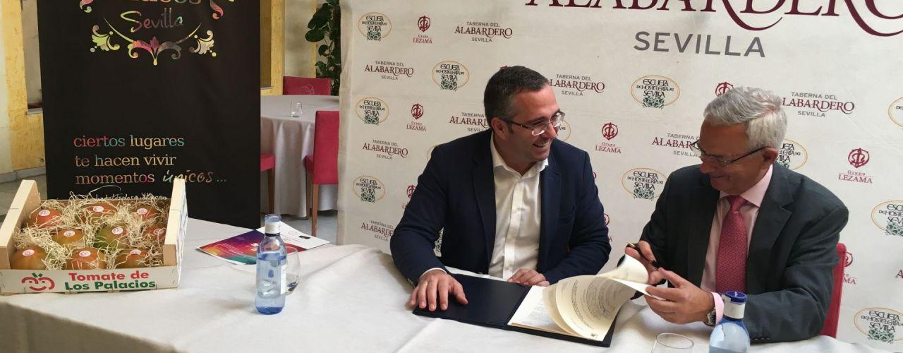 El tomate de Los Palacios será el protagonista en los fogones de los hoteles de Sevilla
