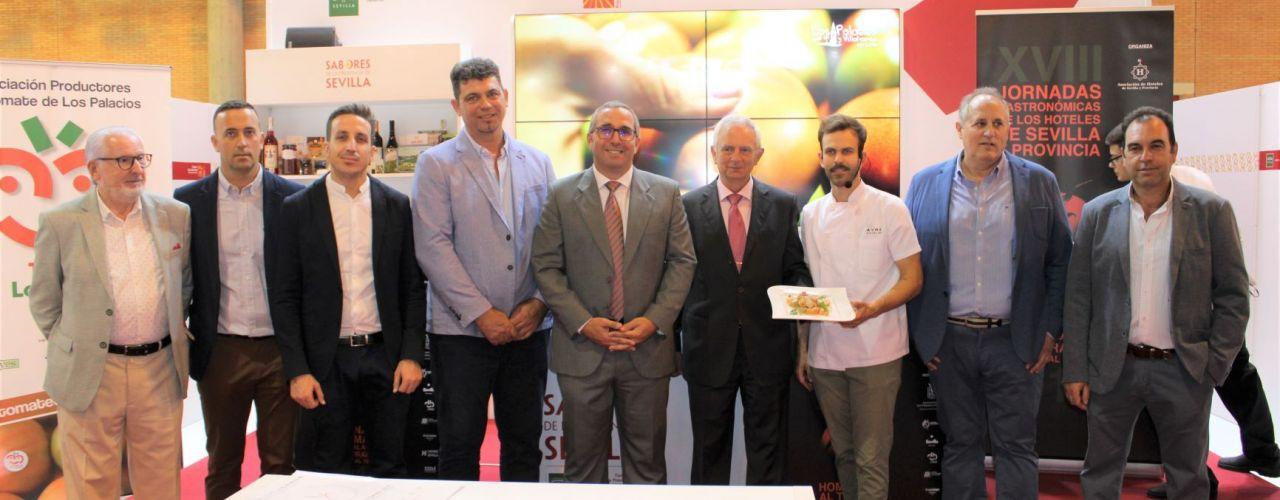 El tomate de Los Palacios y Villafranca será el protagonista de las XVIII Jornadas Gastronómicas de los hoteles de Sevilla