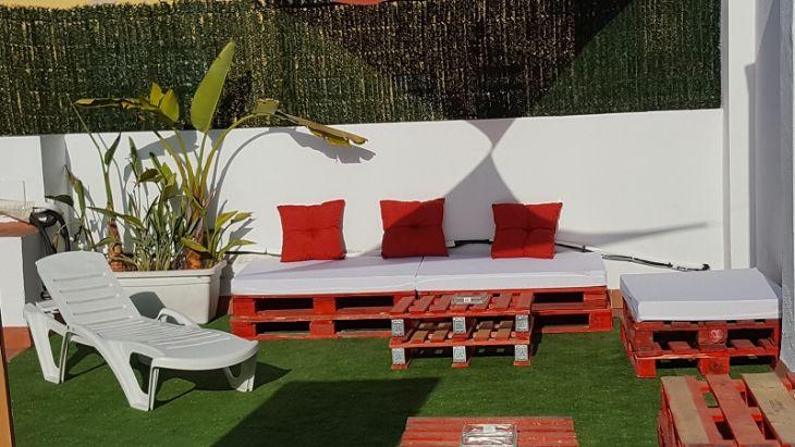 Terraza Solarium con jacuzzi