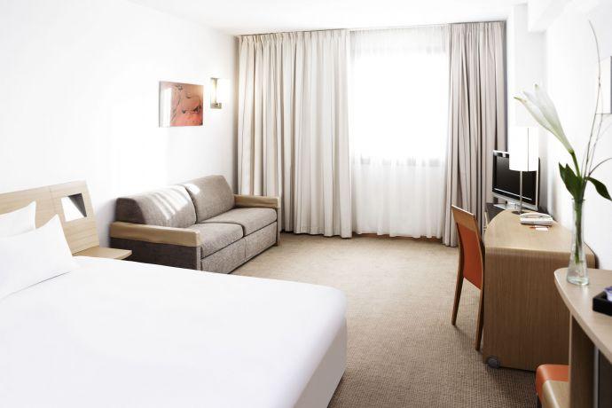 Habitación Novotel Sevilla