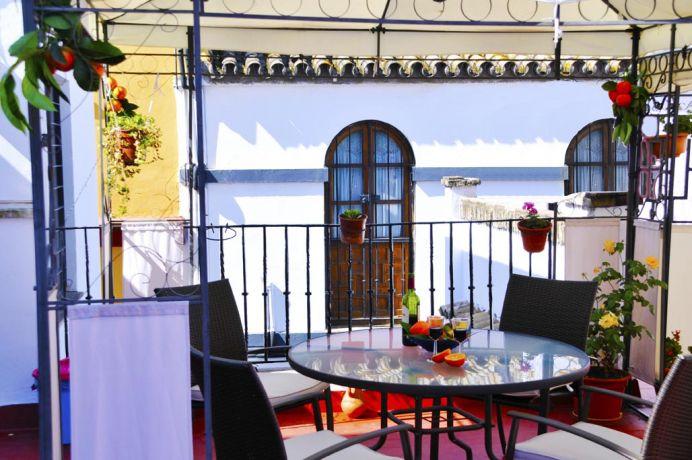 Detalle de las vistas que puedes obtener desde nuestra terraza
