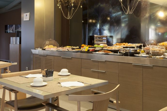 Desayuno buffet AC Sevilla Torneo