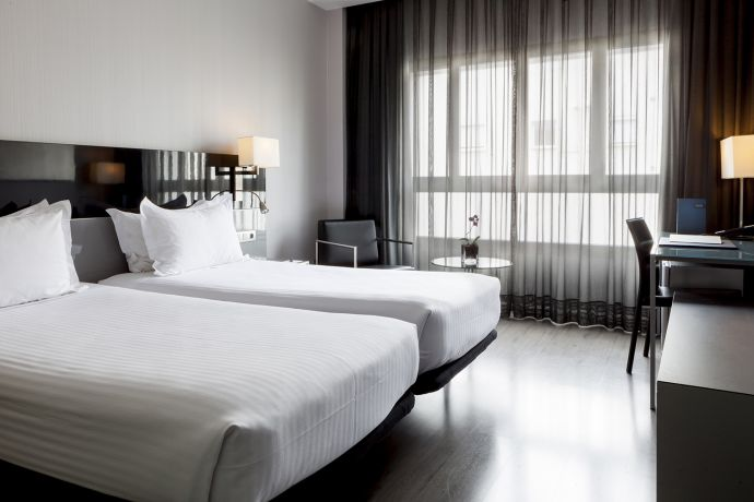 Habitación twin dos camas AC Sevilla Torneo