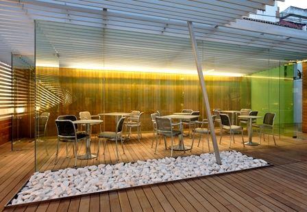 Un lugar ideal donde poder disfrutar de un aperitivo o de una buena comida