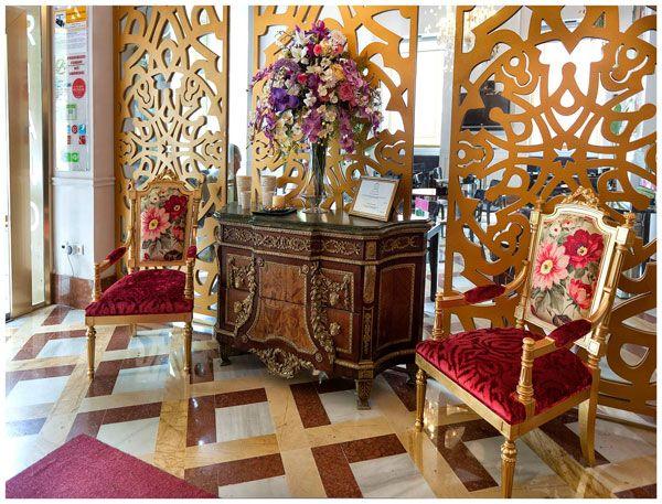 Hall del Hotel Adriano