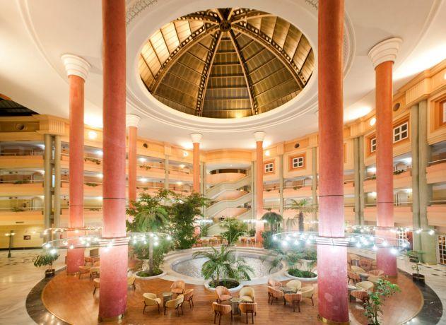 Lobby Hotel TRH Alcora.