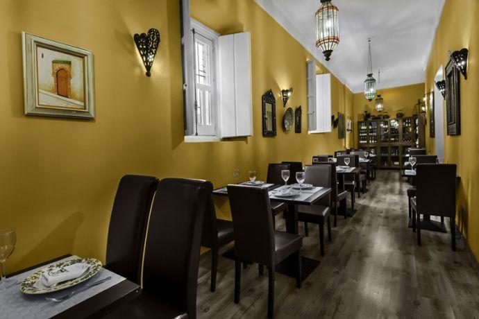 Salón comedor del restaurante
